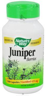 Buy Natures Way   Juniper Berries 425 mg.   100 Capsules at