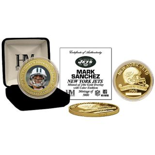 New York Jets Collectibles Highland Mint New York Jets Mark Sanchez