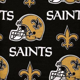 New Orleans Saints NFL New Orleans Saints Cotton Helmet Print Fabric