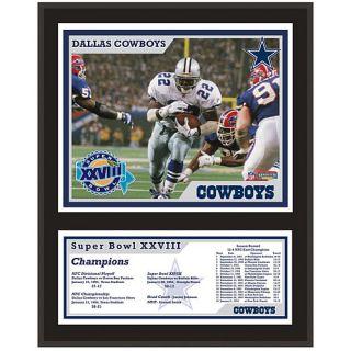 Mounted Memories Dallas Cowboys 12x15 Sublimated Plaque   Super Bowl