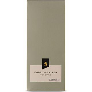Earl Grey tea bags   SELFRIDGES SELECTION   EXCLUSIVES   Food & Wine