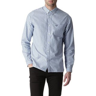 Paisley print Oxford shirt   FRED PERRY   Casual shirts   Shop
