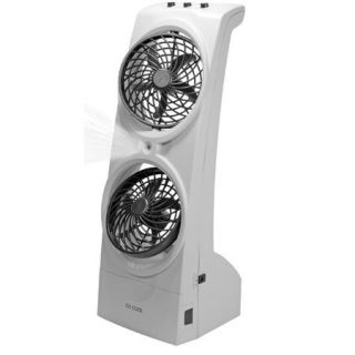 O2 Cool 1089 Portable Two Speed Tower Misting Fan