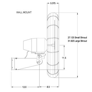 Purchase Wall Fans, Oscillating Wall Mount Fans, Industrial Fans And