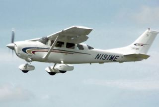 Giant 1/4 Scale Cessna 206 Stationair Plans, Templates