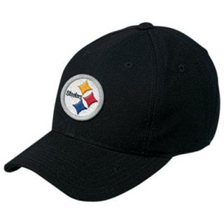 Reebok Pittsburgh Steelers Black Basic Logo Wool Hat