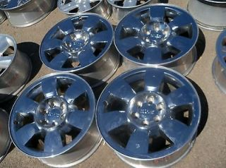 GMC SIERRA YUKON DENALI 20 OEM CHROME WHEELS sale