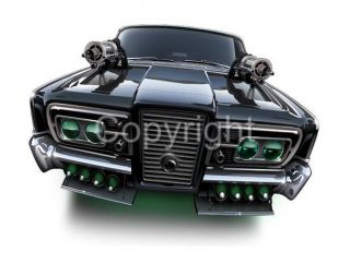 Black Beauty Green Hornet Car Cartoon Tshirt 9498