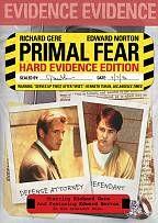 Primal Fear DVD, 2009, Special Edition Widescreen