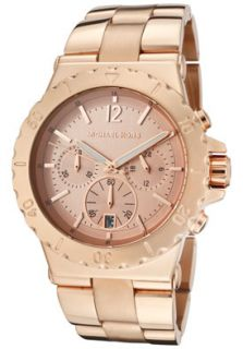 Michael Kors MK5314 Watches,Chronograph Rose Gold Tone Dial Rose Gold