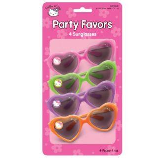 Halloween Costumes Hello Kitty Sunglasses Asst. (4 count)