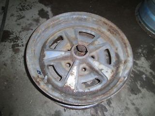 oem PONTIAC rally ralley wheel 15x6 rim wheels date code KG trans am