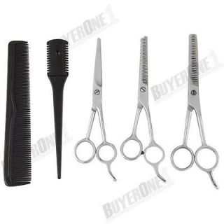 Set Salon Hairdressing Hair Cutting Thinning Shears Scissors Comb