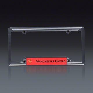 Manchester United Plastic License Plate Frame  SOCCER