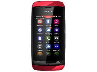 NOKIA ASHA 305 RED DUAL SIM   Smartphone   UniEuro