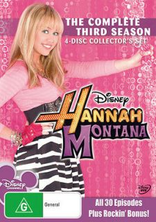 hannah montana season 3 in DVDs & Blu ray Discs