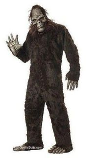 Adult Bigfoot Full Suit Costume Hallow​een Gorilla
