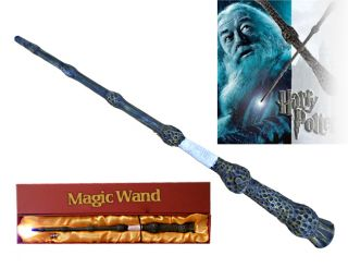 Harry potter wand of arthur weasley name clip stand for Light up elder wand