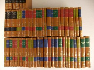 Great Books of The Western World Britannica 1952 49 Vol + 5 Great