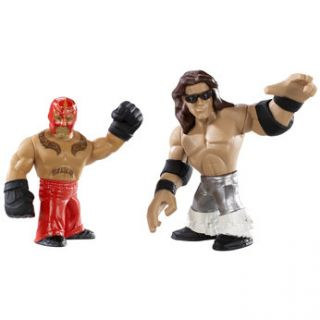 Sorry, out of stock Add WWE Mini Rumblers   Rey Mysterio and John