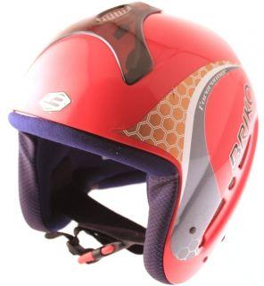 WORLD CUP JR Snow Ski Snowboard Helmet 56cm Medium Red ASTM NEW