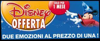 Scopri tutte le promozioni,Promozione Disney 1+1, film. Compra online
