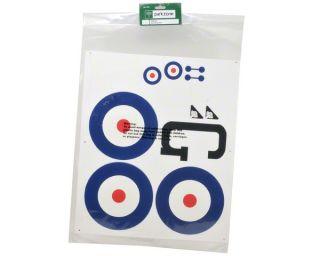 ParkZone Decal Sheet [PKZ5501]  Stickers & Decals   A Main Hobbies