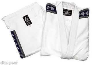GRACIE JIU JITSU UNIVERSITY PEARL SERIES 1 GI W/ BELT VARIOUS SIZES