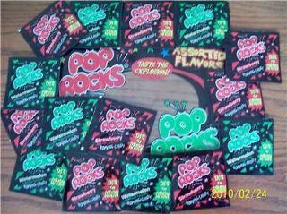 Pop Rocks Candy Party Favor Pinata Bulk Christmas Candy stuffers