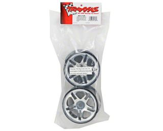 Traxxas 3.8 Split Spoke Chrome Wheels (2) Revo 3.3 [TRA5172R]  RC