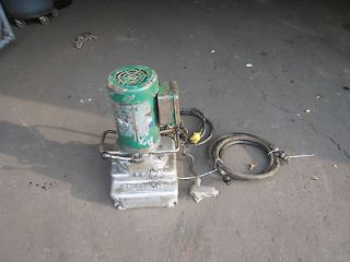 Greenlee 960 Electric Hydraulic Pump 1 1/2 HP 120V 960 PS Used