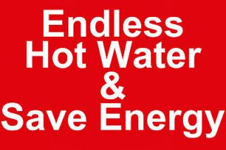 Natural Gas Whole House Instant Tankless Hot Water Heater 4½GPM