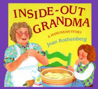 Inside Out Grandma A Hanukkah Story by Joan Rothenberg 1995, Hardcover