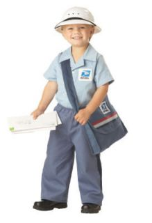Mr. Postman USPS Mailman Postal Boy Toddler Costume 3 4
