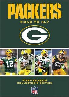 NFL Green Bay Packers   Road to XLV (DVD, 2011, 4 Disc Set) (DVD