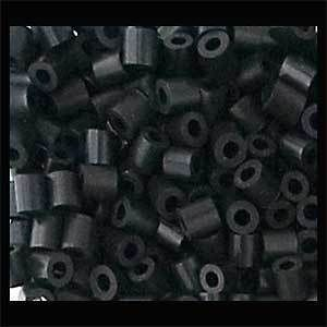 1000 BLACK PHOTO PEARL / Nabbi / Perler Beads RARE
