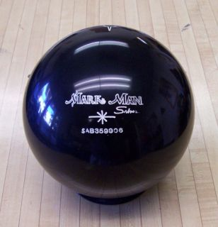 15 LB NEW BLACK Bowling Ball NEW IN BOX    15# MARKSMAN