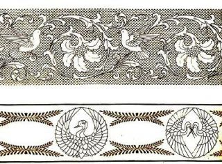 Antique DMC French hand embroidery patterns designs CD