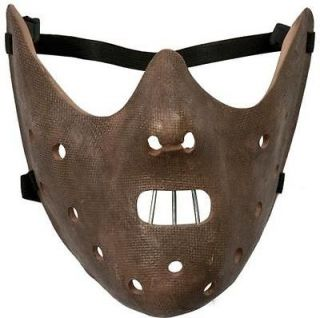 NEW HALLOWEEN DELUXE HANNIBAL LECTER MASK COSTUME FANCY DRESS STAGE