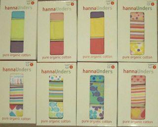 Hanna Andersson Girls Organic S 100 110 Underwear Unders Hipster