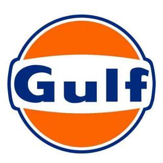 GULF Oil Gasoline Vinyl Sticker Decal 14