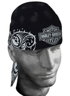 harley davidson head wrap in Clothing,