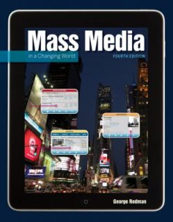 Mass Media in a Changing World by George Rodman 2011, Paperback