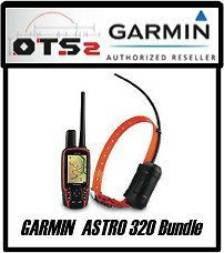 Garmin Astro 320 Dog Tracking Collar Bundle