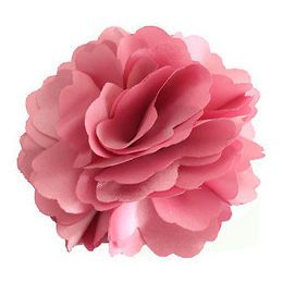 Silky Rose Flower Hat Hair Clip Brooch Pin for Wedding Party Prom