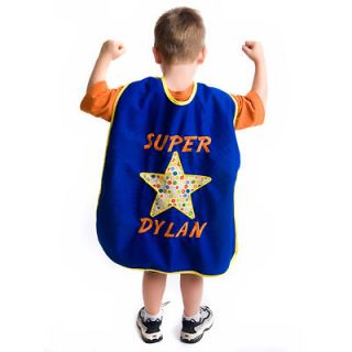 Handmade Childs Kids Super Hero Cape Halloween Costume Party Favor