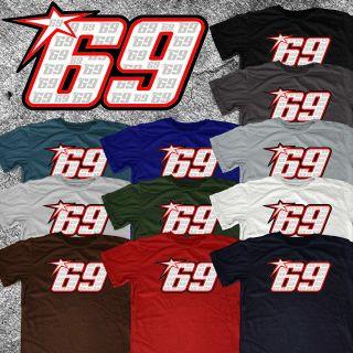 Nicky Hayden 69 Kentucky Kid Custom MotoGP Moto GP Ducati GP7 2012 tee