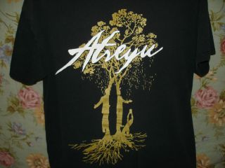 Atreyu Shirt Mens L  Heavy Metal Rock Band Tee Black LOG