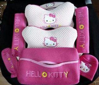 hello kitty belt seat