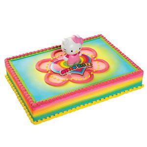 HELLO KITTY Cake Decoration Topper KIT SET Party *NEW*
